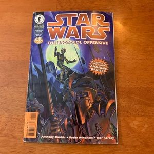 Star Wars The Protocol Offensive Comic Book